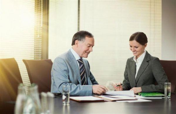 Подписание документов в банке
